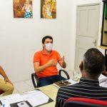 16.03 - Diretor de Cultura da Funcap, Fredson Santana, recebe prefeito e diretor de Cultura do município de Muribeca