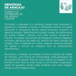 Memorial Descritivo - Exposição Memórias de Aracaju: Ensaio de lembranças da nossa cidade